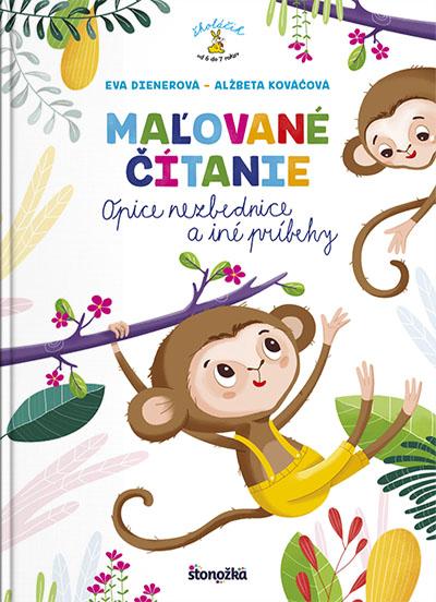 Maľované čítanie – Opice nezbednice a iné príbehy